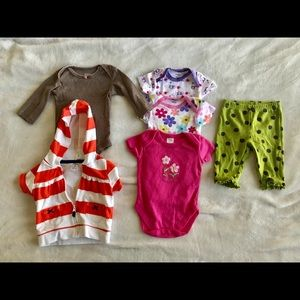 3-6 month old baby girl clothes